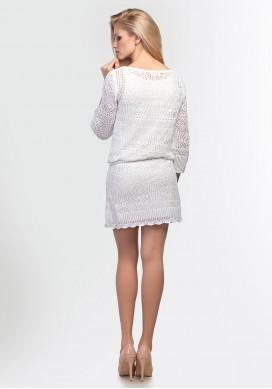 Летнее ажурное платье на подкладе 2113